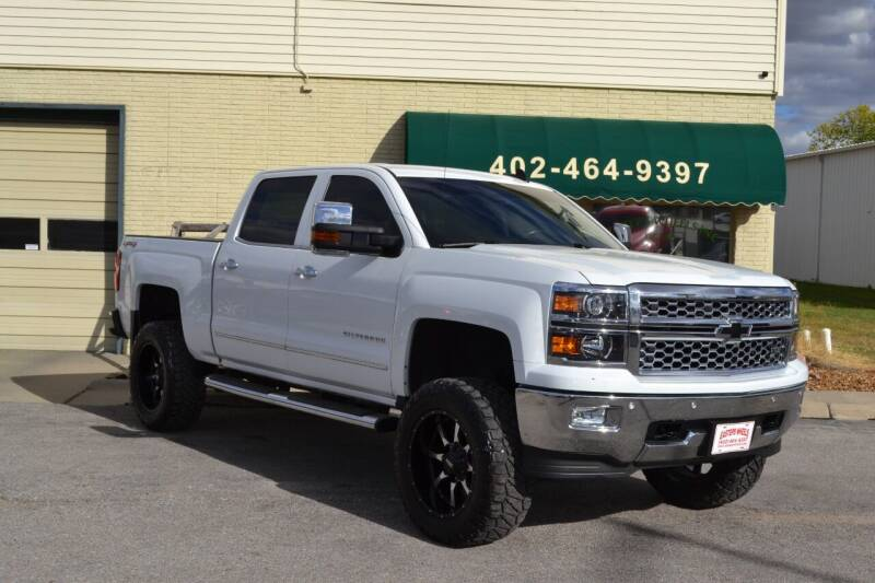 2015 Chevrolet Silverado 1500 for sale at Eastep's Wheels in Lincoln NE