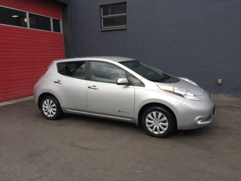 2015 Nissan LEAF for sale at Paramount Motors NW in Seattle WA