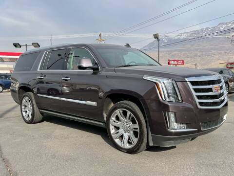 2016 Cadillac Escalade ESV for sale at Ultimate Auto Sales Of Orem in Orem UT