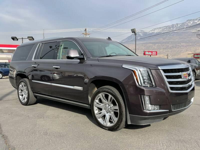 2016 Cadillac Escalade ESV for sale at Ultimate Auto Sales Of Orem in Orem UT
