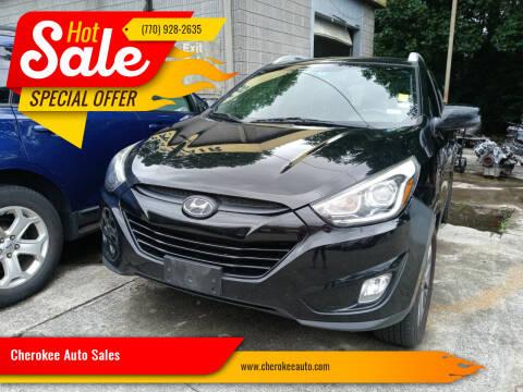2015 Hyundai Tucson for sale at Cherokee Auto Sales in Acworth GA