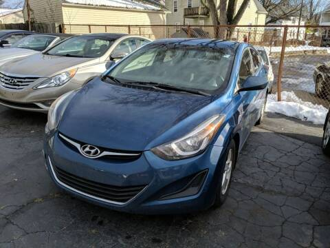 2014 Hyundai Elantra for sale at Richland Motors in Cleveland OH