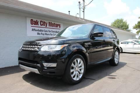 2014 Land Rover Range Rover Sport for sale at Oak City Motors in Garner NC