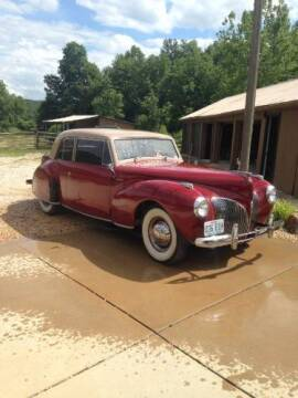 1941 Lincoln Continental for sale at Classic Car Deals in Cadillac MI