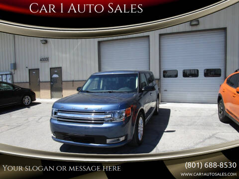 2018 Ford Flex for sale at Car 1 Auto Sales in Murray UT
