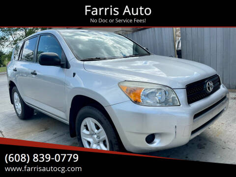 2007 Toyota RAV4 for sale at Farris Auto in Cottage Grove WI
