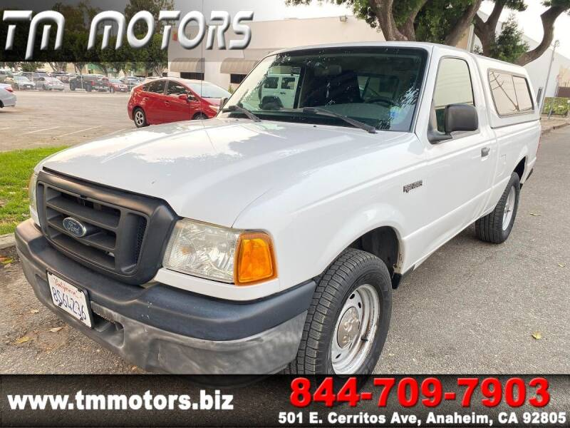 2005 Ford Ranger for sale at TM Motors in Anaheim CA