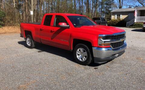 2018 Chevrolet Silverado 1500 for sale at Dorsey Auto Sales in Anderson SC