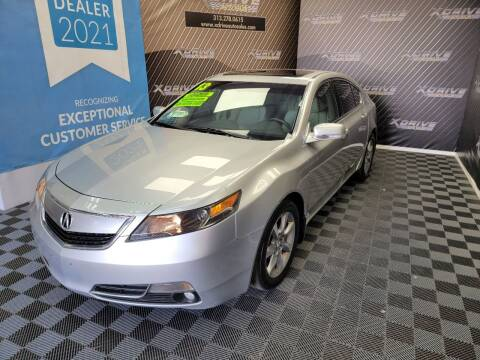 2013 Acura TL for sale at X Drive Auto Sales Inc. in Dearborn Heights MI