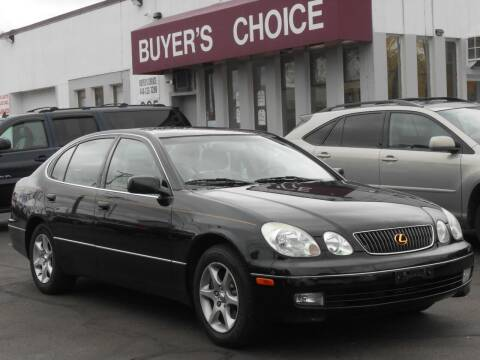 2001 Lexus GS 300 for sale at Buyers Choice Auto Sales in Bedford OH
