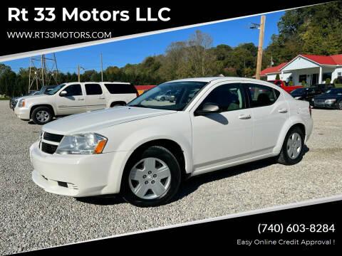 2008 Dodge Avenger for sale at Rt 33 Motors LLC in Rockbridge OH