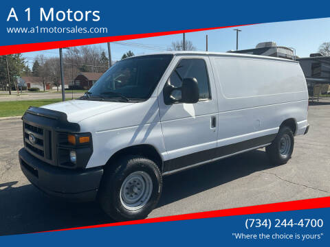 2013 Ford E-Series Cargo for sale at A 1 Motors in Monroe MI