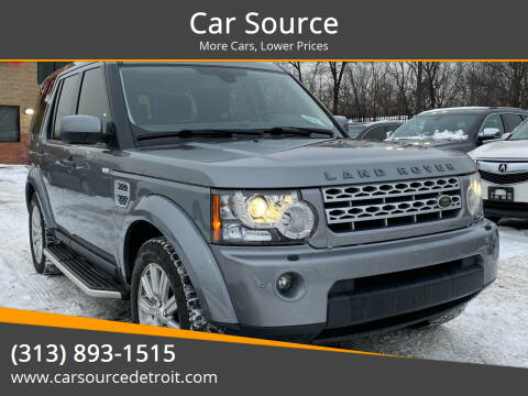 2013 Land Rover LR4 for sale at Car Source in Detroit MI