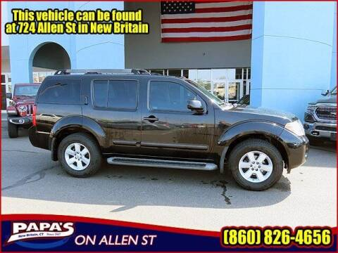2008 Nissan Pathfinder for sale at Papas Chrysler Dodge Jeep Ram in New Britain CT