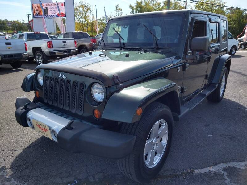 2010 Jeep Wrangler Unlimited for sale at P J McCafferty Inc in Langhorne PA