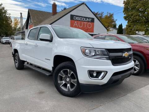 2017 Chevrolet Colorado for sale at Discount Auto Brokers Inc. in Lehi UT