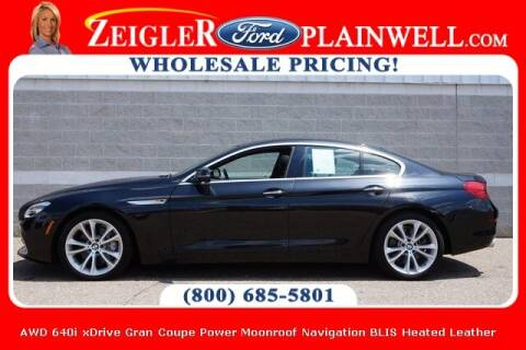 2019 BMW 6 Series for sale at Zeigler Ford of Plainwell- Jeff Bishop in Plainwell MI