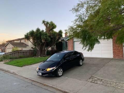 2015 Honda Civic for sale at Blue Eagle Motors in Fremont CA