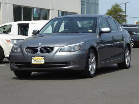 2008 BMW 5 Series for sale at Loudoun Motor Cars in Chantilly VA
