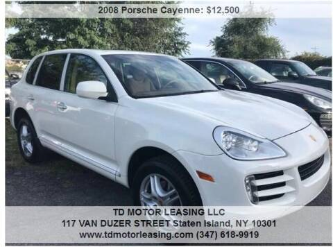 2008 Porsche Cayenne for sale at TD MOTOR LEASING LLC in Staten Island NY