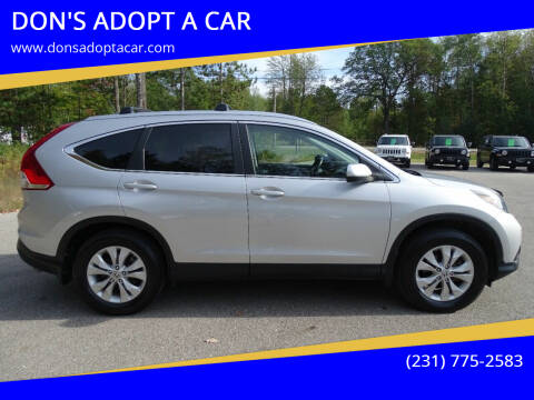 2012 Honda CR-V for sale at DON'S ADOPT A CAR in Cadillac MI
