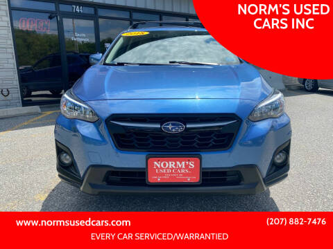 2018 Subaru Crosstrek for sale at NORM'S USED CARS INC in Wiscasset ME