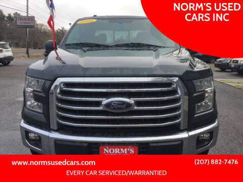 2015 Ford F-150 for sale at NORM'S USED CARS INC in Wiscasset ME