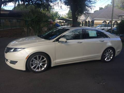 Lincoln Mkz Hybrid For Sale In Tampa Fl Auto Gallery Of Tampa Bay Inc