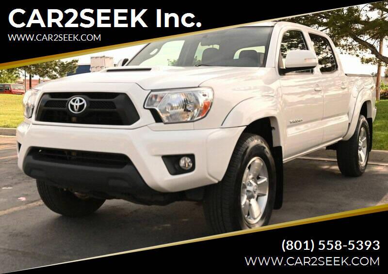 2015 Toyota Tacoma for sale at CAR2SEEK Inc. in Salt Lake City UT