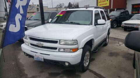 2004 Chevrolet Tahoe for sale at Direct Auto Sales+ in Spokane Valley WA