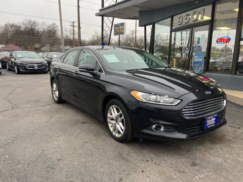 2014 Ford Fusion for sale at Smart Buy Car Sales in St. Louis MO