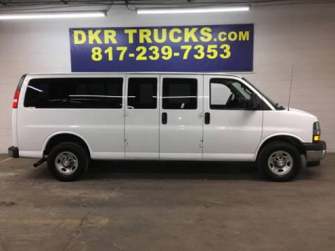 2019 Chevrolet Express Passenger for sale at DKR Trucks in Arlington TX