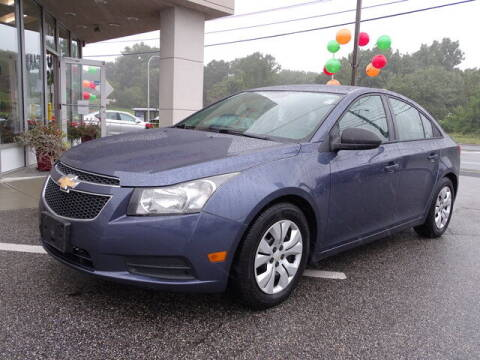 2014 Chevrolet Cruze for sale at KING RICHARDS AUTO CENTER in East Providence RI