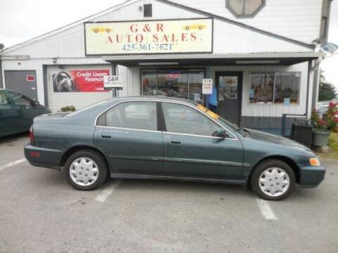 1997 Honda Accord for sale at G&R Auto Sales in Lynnwood WA