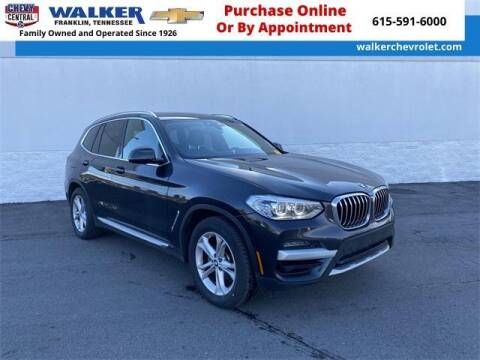 2020 BMW X3 for sale at WALKER CHEVROLET in Franklin TN