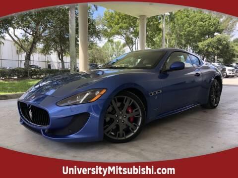 2017 Maserati GranTurismo for sale at University Mitsubishi in Davie FL