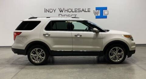 2012 Ford Explorer for sale at Indy Wholesale Direct in Carmel IN
