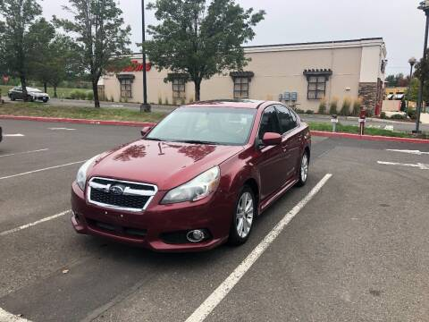 2013 Subaru Legacy for sale at McMinnville Auto Sales LLC in Mcminnville OR