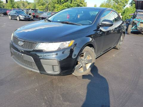 2012 Kia Forte Koup for sale at Cruisin' Auto Sales in Madison IN