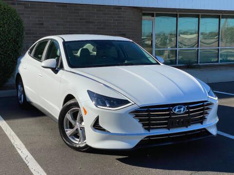 2021 Hyundai Sonata for sale at AKOI Motors in Tempe AZ