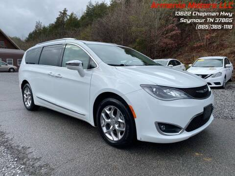 2017 Chrysler Pacifica for sale at Armenia Motors in Seymour TN