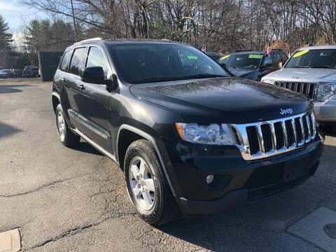 2012 Jeep Grand Cherokee for sale at TOLLAND CITGO AUTO SALES in Tolland CT