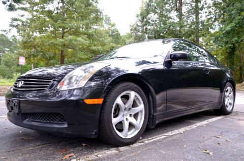 2005 Infiniti G35 for sale at Wheel Deal Auto Sales LLC in Norfolk VA