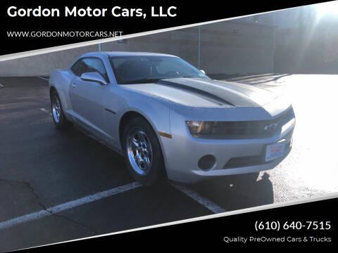 2011 Chevrolet Camaro for sale at Gordon Motor Cars, LLC in Frazer PA
