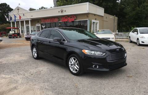 2013 Ford Fusion for sale at Townsend Auto Mart in Millington TN