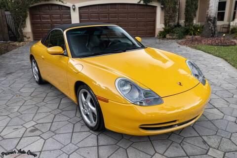 2001 Porsche 911 for sale at Premier Auto Group of South Florida in Wellington FL
