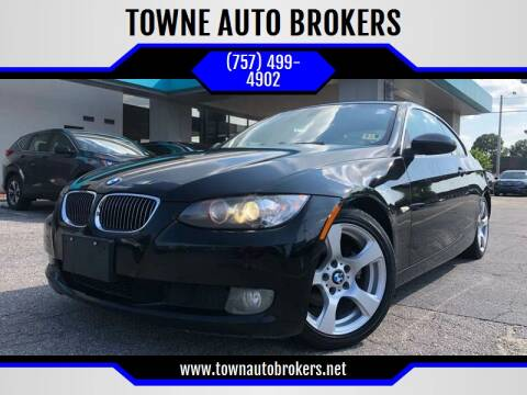 2007 BMW 3 Series for sale at TOWNE AUTO BROKERS in Virginia Beach VA
