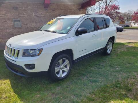 2016 Jeep Compass for sale at Murdock Used Cars in Niles MI