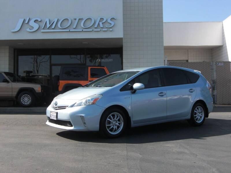 2013 Toyota Prius v for sale at J'S MOTORS in San Diego CA