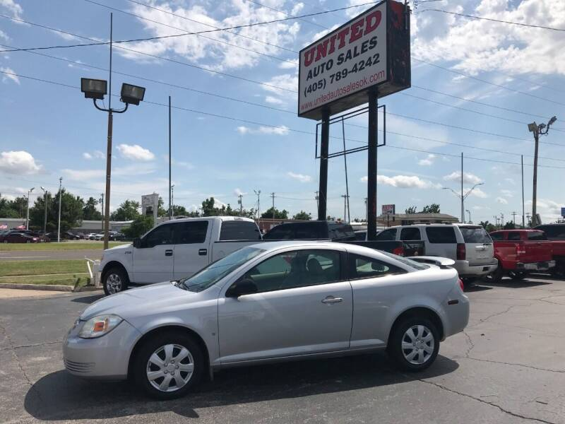 2007 Chevrolet Cobalt for sale at United Auto Sales in Oklahoma City OK